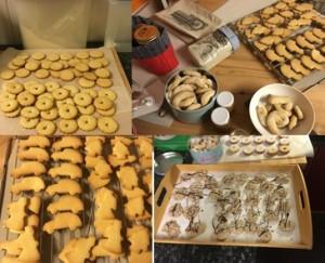 Rückblick auf die Weihnachtsbäckerei 2015