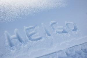 Das Glück im Schnee