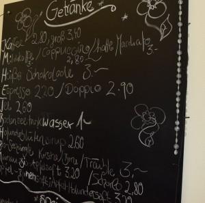 Cafe Inselglück_GEtränke