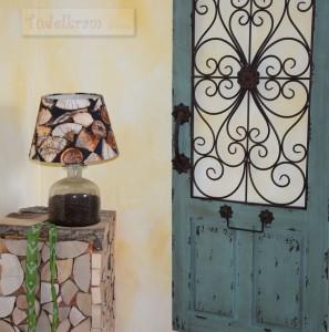 Hotel Augustin_Deko Tür und Lampe