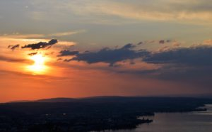 Sonnenuntergang Treichli