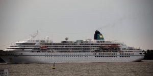 Kreuzfahrschiff Elbe