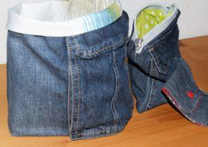 3 Upcycling Ideen aus einer alten Jeans
