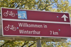 Schild Winterthur
