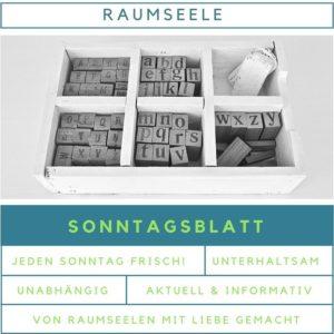 Sonntagsblatt von Raumseele