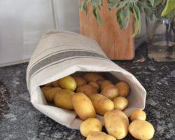 Praktisches und Dekoratives für die Küche, der Kartoffelsack