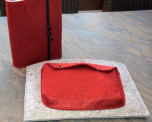 Surface und IPad Hülle selber genäht