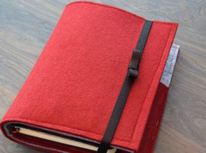 Notizbuch mit Ipad TAsche