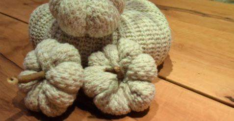 Upcycling Wollkürbisse aus einem alten Pullover