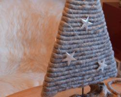 Adventstürchen 24 ein kleiner Christbaum