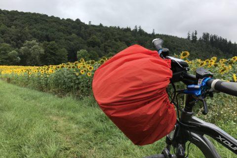 Fahrradtour im Regen und Übernachtung in der Puppenstube